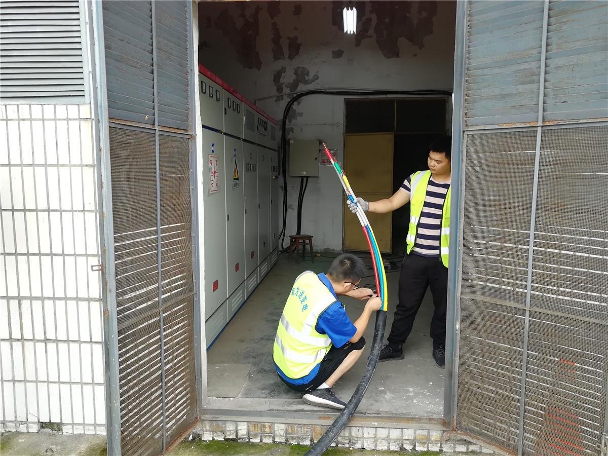 6.28+钟莉+细查严控保安全---内江管理处完成隆昌停车区内配电房隐患排查治理